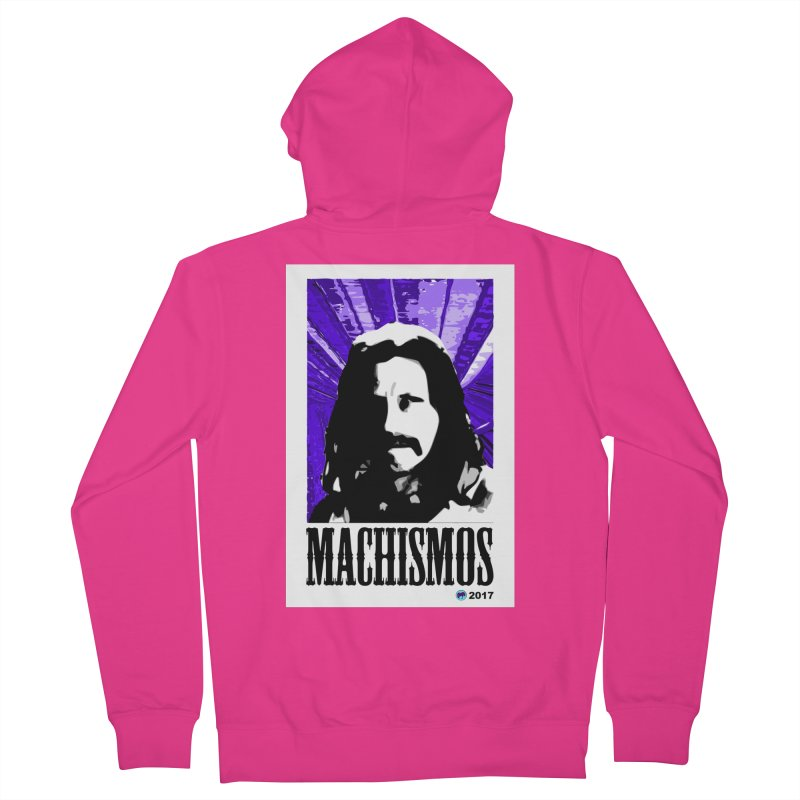 Machismos by ChupaCabrales Men's French Terry Zip-Up Hoody by ChupaCabrales's Shop