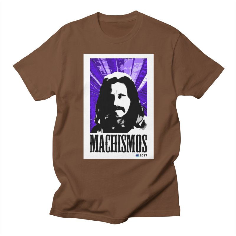 Machismos by ChupaCabrales Men's Regular T-Shirt by ChupaCabrales's Shop
