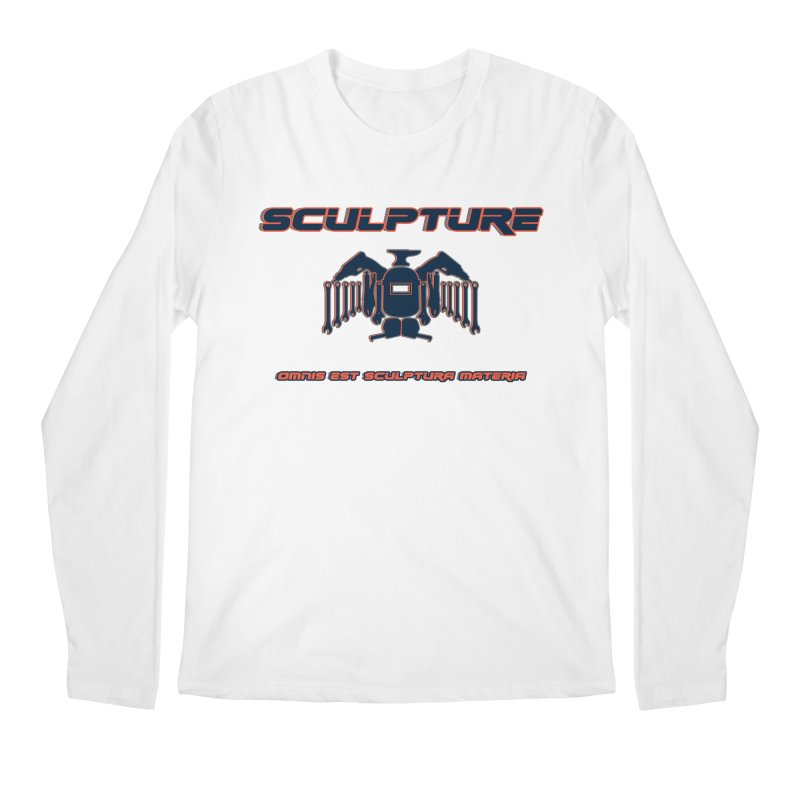 Sculpture Philosophy by ChupaCabrales Men's Longsleeve T-Shirt by ChupaCabrales's Shop