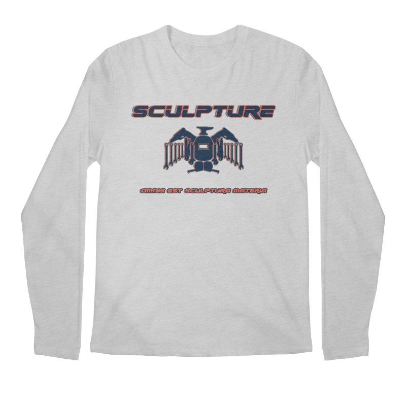 Sculpture Philosophy by ChupaCabrales Men's Longsleeve T-Shirt by ChupaCabrales's Shop