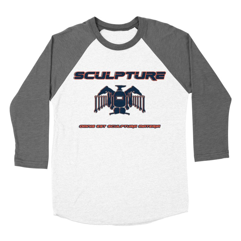 Sculpture Philosophy by ChupaCabrales Women's Baseball Triblend T-Shirt by ChupaCabrales's Shop