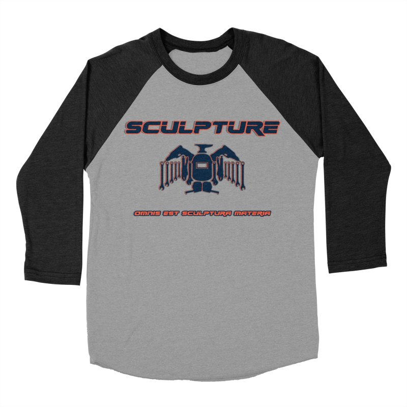 Sculpture Philosophy by ChupaCabrales Men's Baseball Triblend T-Shirt by ChupaCabrales's Shop