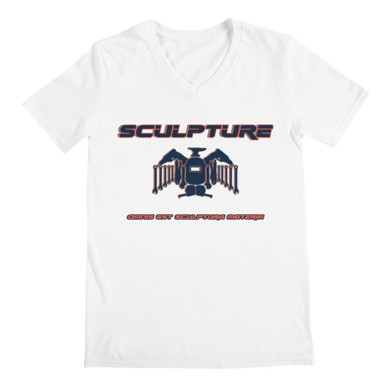Sculpture Philosophy by ChupaCabrales Men's V-Neck by ChupaCabrales's Shop