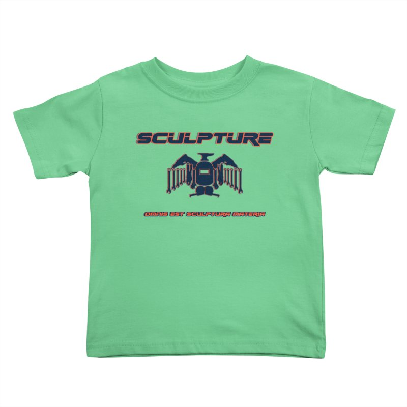 Sculpture Philosophy by ChupaCabrales Kids Toddler T-Shirt by ChupaCabrales's Shop