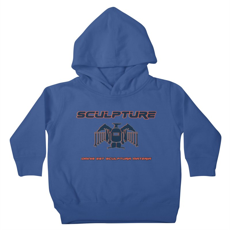 Sculpture Philosophy by ChupaCabrales Kids Toddler Pullover Hoody by ChupaCabrales's Shop