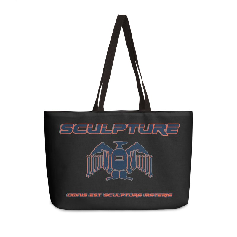 Sculpture Philosophy by ChupaCabrales Accessories Weekender Bag Bag by ChupaCabrales's Shop