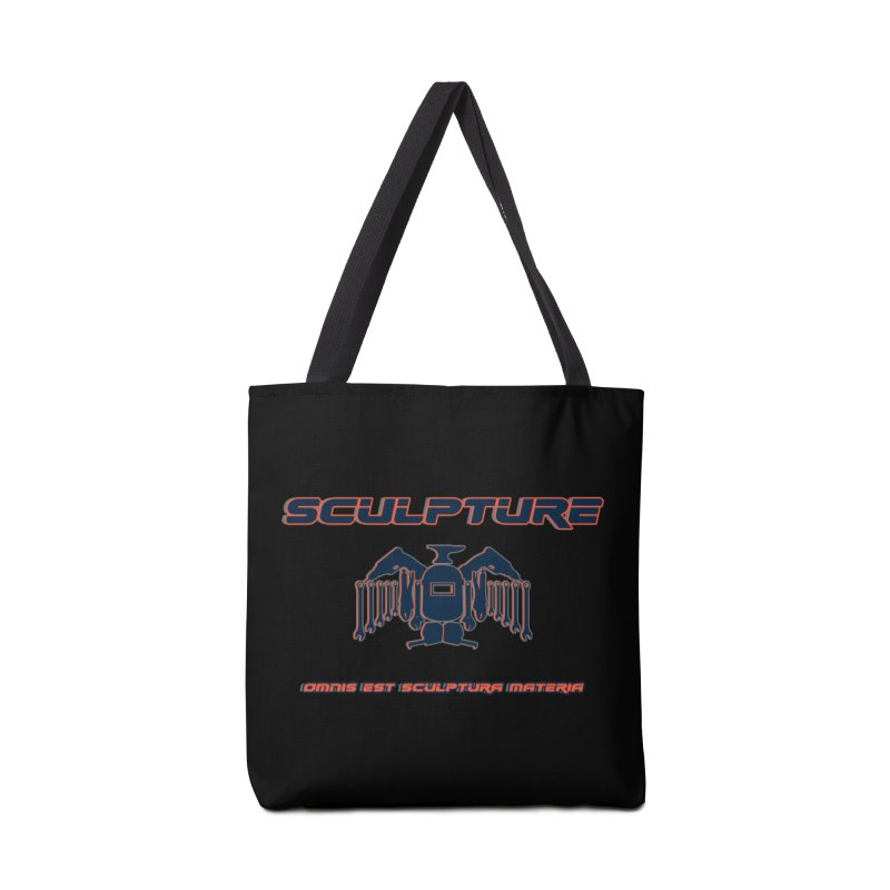 Sculpture Philosophy by ChupaCabrales Accessories Tote Bag Bag by ChupaCabrales's Shop