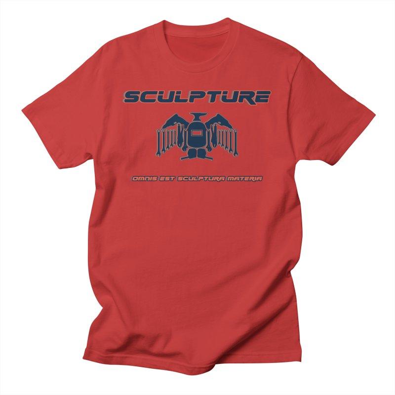 Sculpture Philosophy by ChupaCabrales Men's T-Shirt by ChupaCabrales's Shop