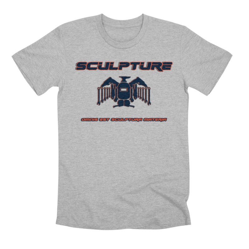 Sculpture Philosophy by ChupaCabrales Men's Premium T-Shirt by ChupaCabrales's Shop