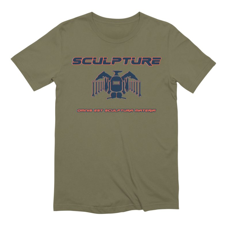 Sculpture Philosophy by ChupaCabrales Men's Extra Soft T-Shirt by ChupaCabrales's Shop