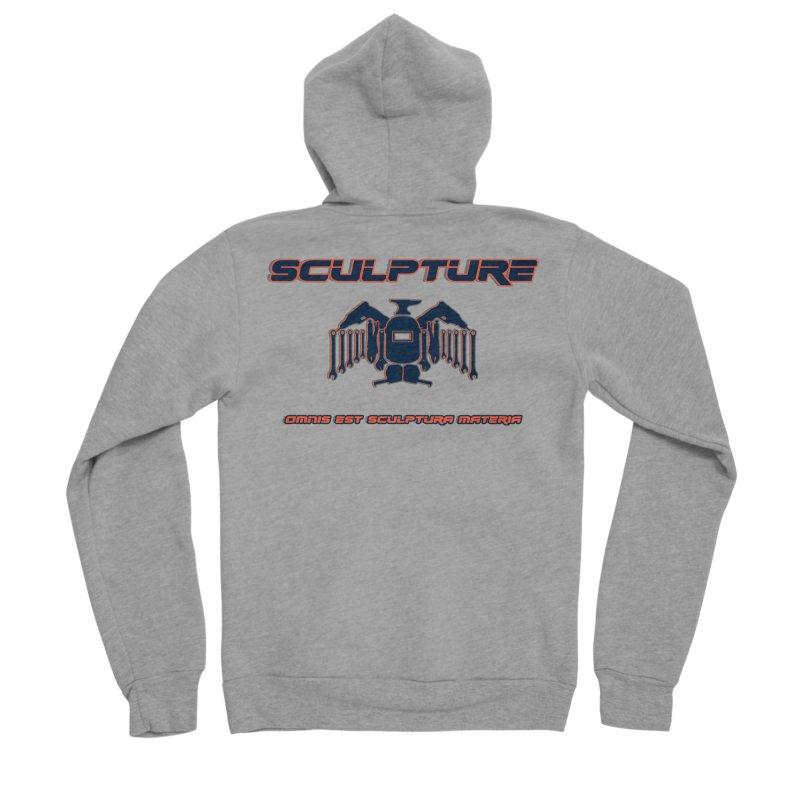 Sculpture Philosophy by ChupaCabrales Men's Sponge Fleece Zip-Up Hoody by ChupaCabrales's Shop