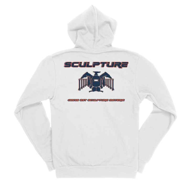 Sculpture Philosophy by ChupaCabrales Men's Sponge Fleece Zip-Up Hoody by ChupaCabrales's Shop