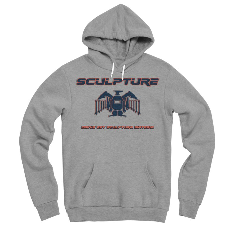 Sculpture Philosophy by ChupaCabrales Men's Sponge Fleece Pullover Hoody by ChupaCabrales's Shop