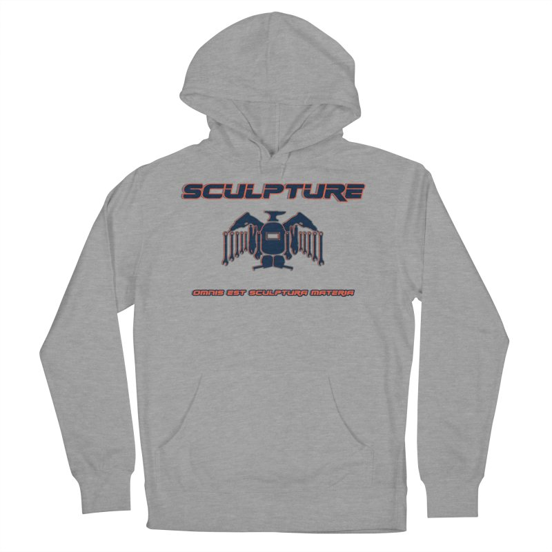 Sculpture Philosophy by ChupaCabrales Men's French Terry Pullover Hoody by ChupaCabrales's Shop