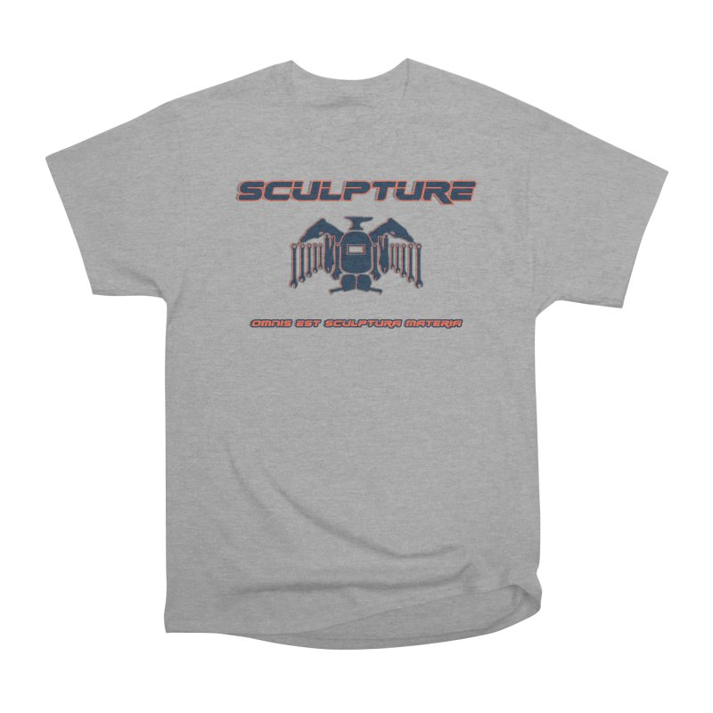 Sculpture Philosophy by ChupaCabrales Men's Heavyweight T-Shirt by ChupaCabrales's Shop