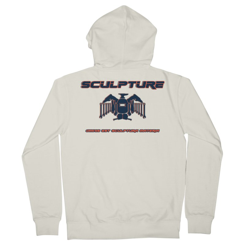 Sculpture Philosophy by ChupaCabrales Women's Zip-Up Hoody by ChupaCabrales's Shop
