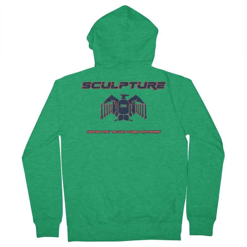 Sculpture Philosophy by ChupaCabrales Men's Zip-Up Hoody by ChupaCabrales's Shop
