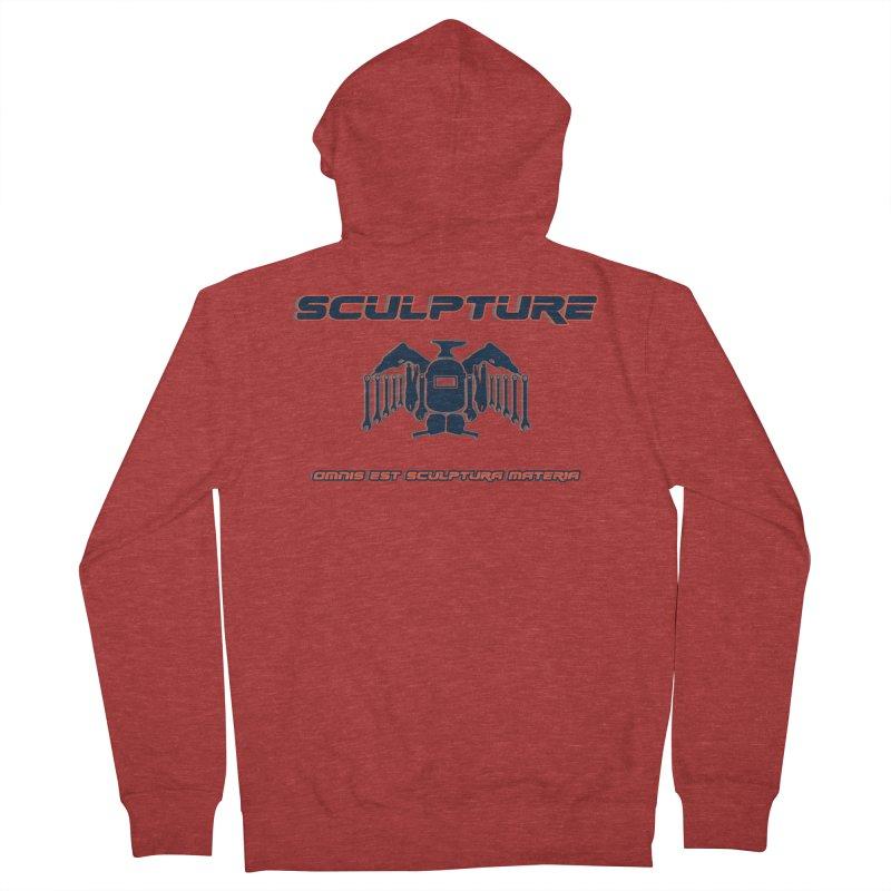 Sculpture Philosophy by ChupaCabrales Men's French Terry Zip-Up Hoody by ChupaCabrales's Shop
