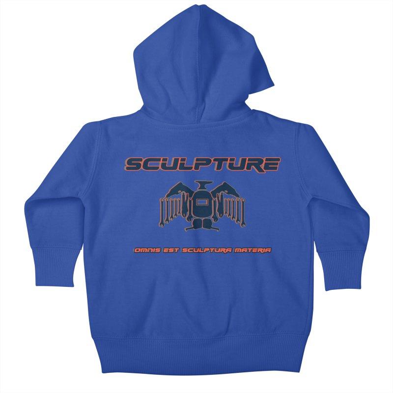 Sculpture Philosophy by ChupaCabrales Kids Baby Zip-Up Hoody by ChupaCabrales's Shop