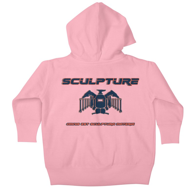 Sculpture Philosophy by ChupaCabrales Kids Baby Zip-Up Hoody by ChupaCabrales's Shop