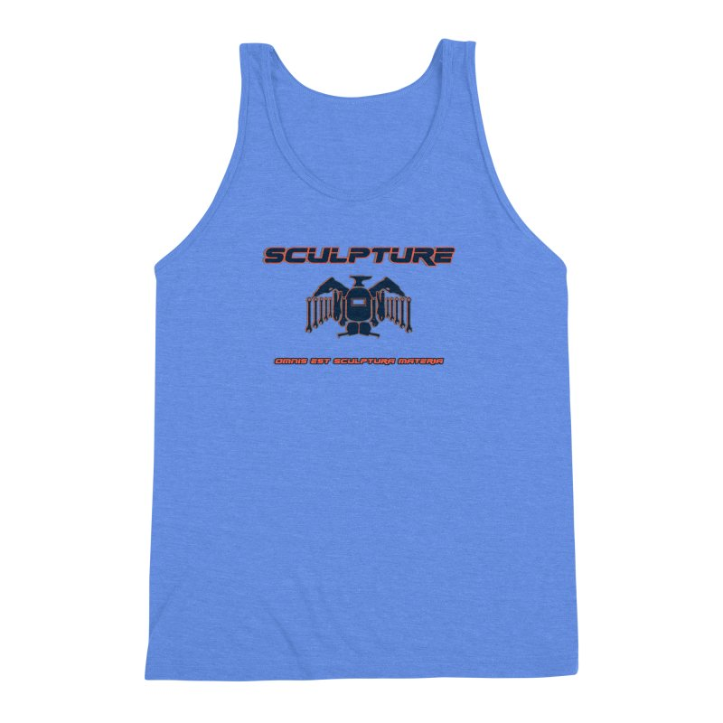 Sculpture Philosophy by ChupaCabrales Men's Triblend Tank by ChupaCabrales's Shop