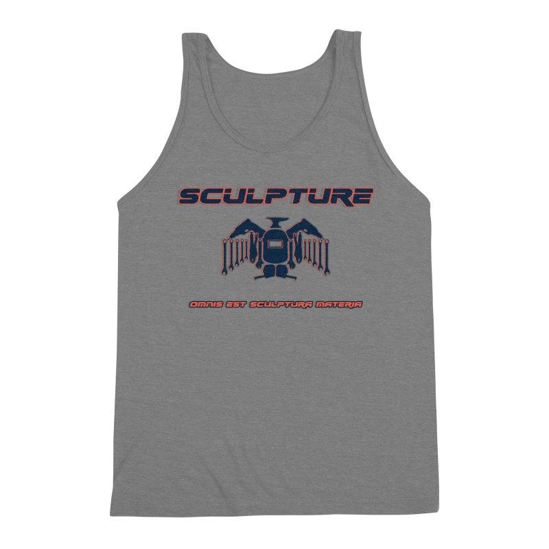 Sculpture Philosophy by ChupaCabrales Men's Triblend Tank by ChupaCabrales's Shop