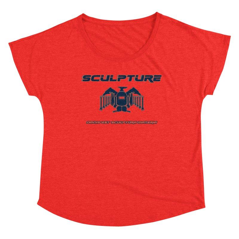 Sculpture Philosophy by ChupaCabrales Women's Scoop Neck by ChupaCabrales's Shop