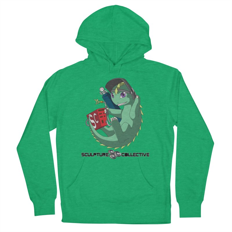 Weldzilla by Michelle Fluekiger Women's French Terry Pullover Hoody by ChupaCabrales's Shop