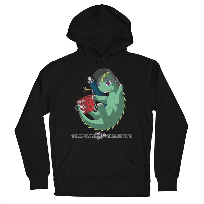 Weldzilla by Michelle Fluekiger Men's French Terry Pullover Hoody by ChupaCabrales's Shop