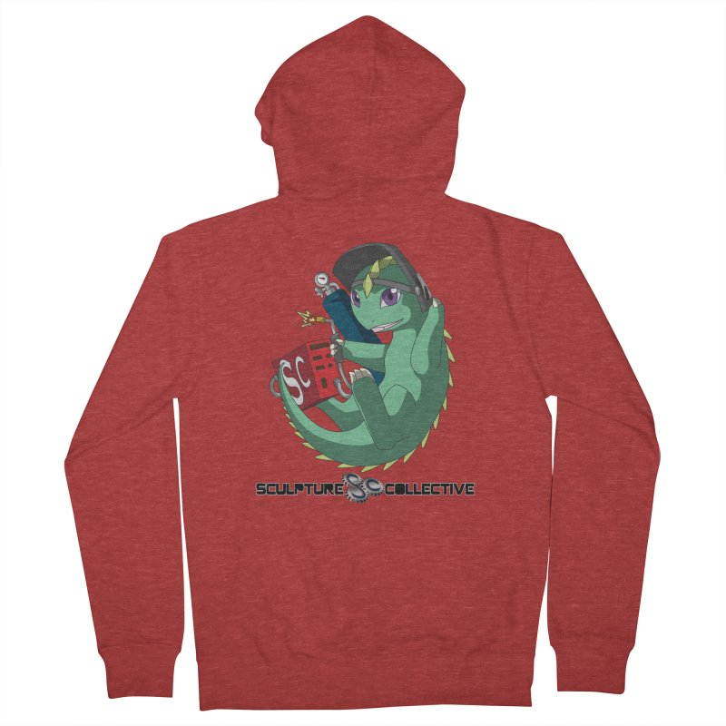 Weldzilla by Michelle Fluekiger Women's French Terry Zip-Up Hoody by ChupaCabrales's Shop