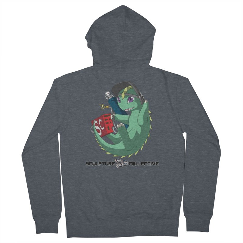 Weldzilla by Michelle Fluekiger Men's French Terry Zip-Up Hoody by ChupaCabrales's Shop