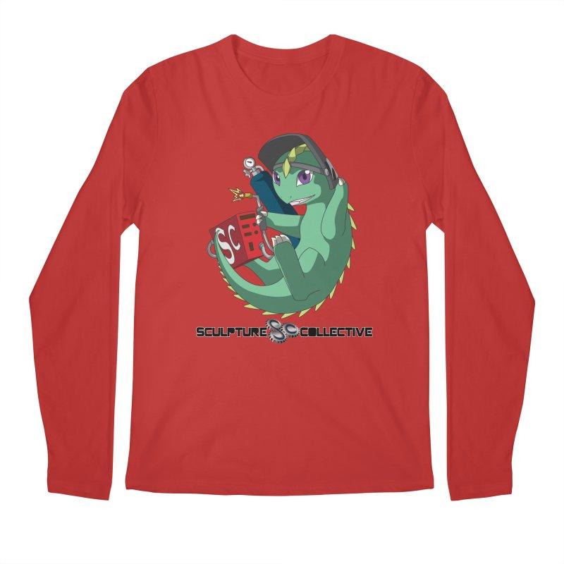 Weldzilla by Michelle Fluekiger Men's Regular Longsleeve T-Shirt by ChupaCabrales's Shop