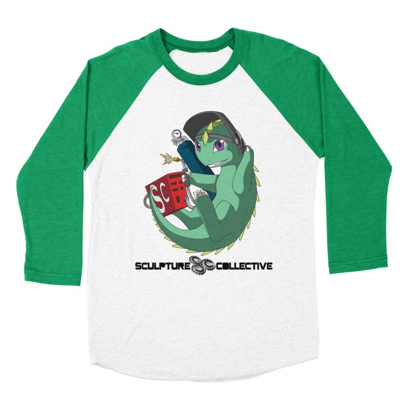 Weldzilla by Michelle Fluekiger Women's Baseball Triblend Longsleeve T-Shirt by ChupaCabrales's Shop