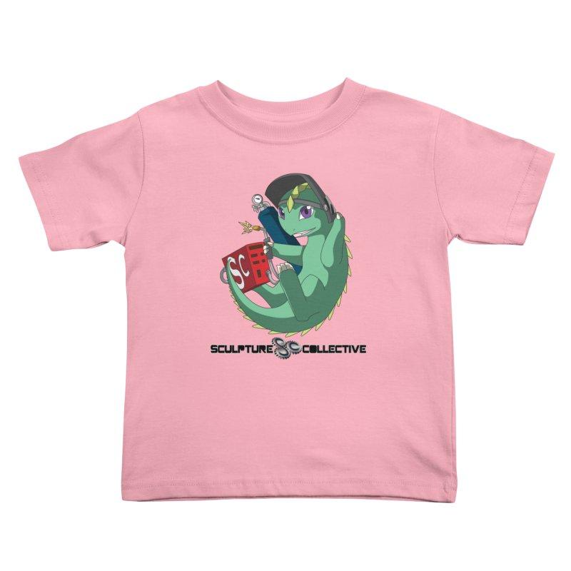 Weldzilla by Michelle Fluekiger Kids Toddler T-Shirt by ChupaCabrales's Shop