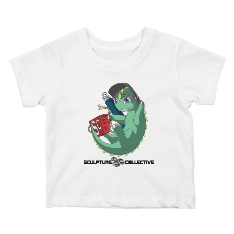 Weldzilla by Michelle Fluekiger Kids Baby T-Shirt by ChupaCabrales's Shop