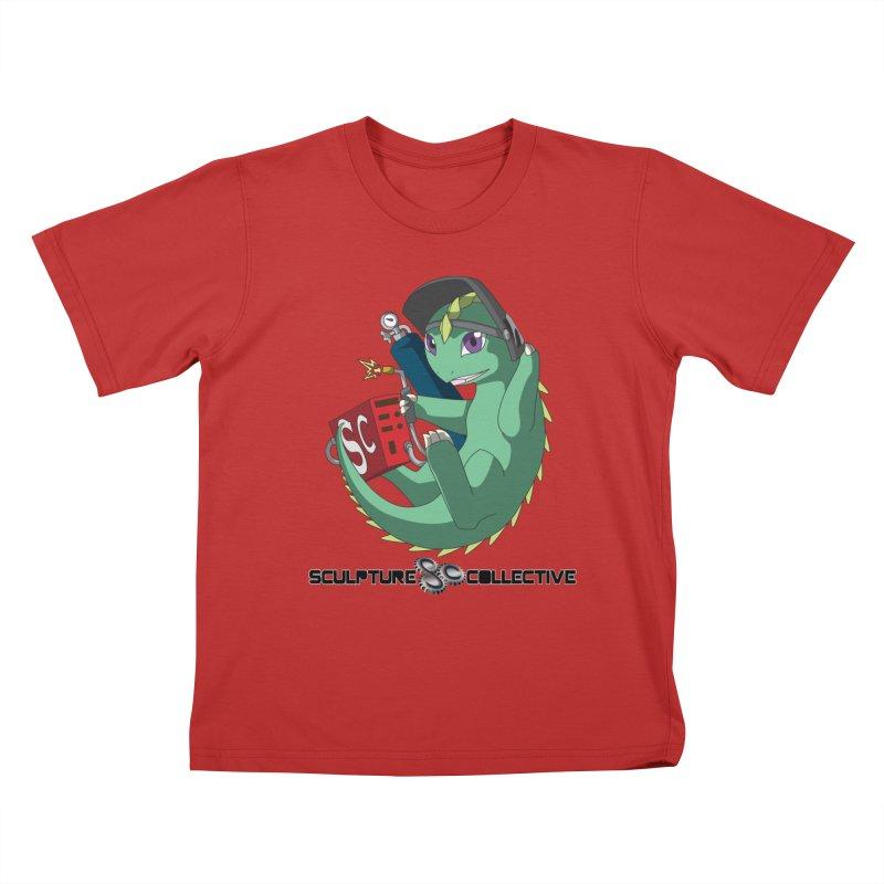 Weldzilla by Michelle Fluekiger Kids T-Shirt by ChupaCabrales's Shop