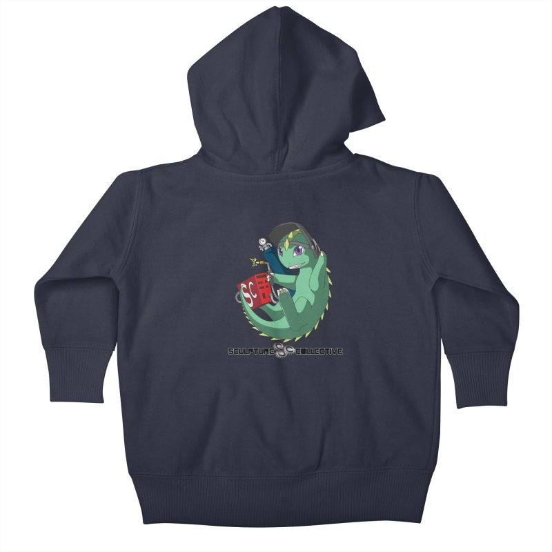 Weldzilla by Michelle Fluekiger Kids Baby Zip-Up Hoody by ChupaCabrales's Shop