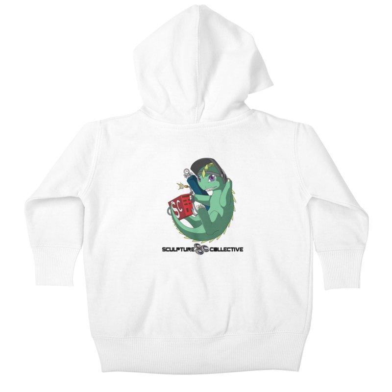 Weldzilla by Michelle Fluekiger Kids Baby Zip-Up Hoody by ChupaCabrales's Shop