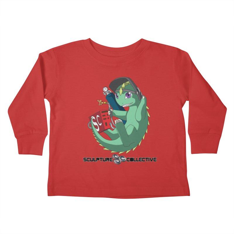 Weldzilla by Michelle Fluekiger Kids Toddler Longsleeve T-Shirt by ChupaCabrales's Shop