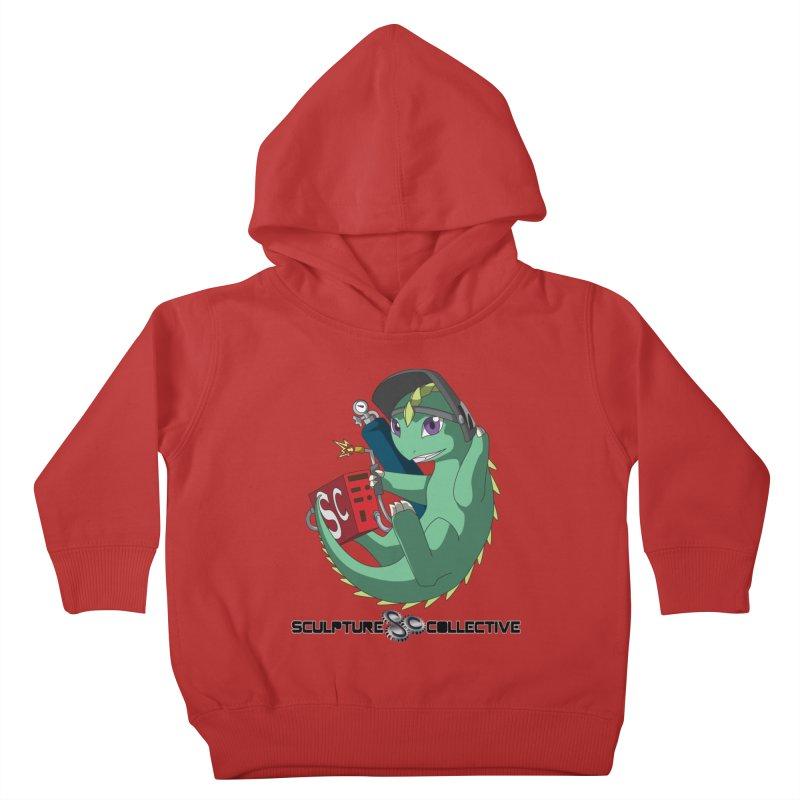 Weldzilla by Michelle Fluekiger Kids Toddler Pullover Hoody by ChupaCabrales's Shop