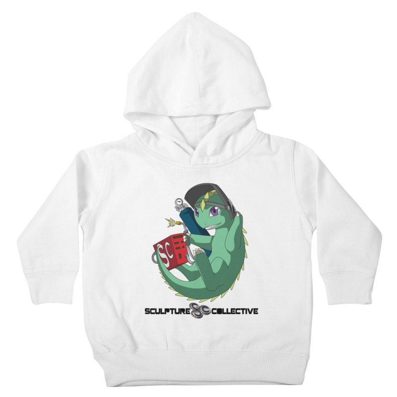 Weldzilla by Michelle Fluekiger Kids Toddler Pullover Hoody by ChupaCabrales's Shop