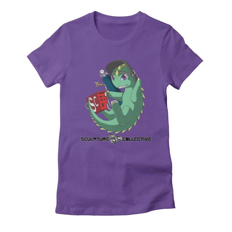 Weldzilla by Michelle Fluekiger Women's Fitted T-Shirt by ChupaCabrales's Shop