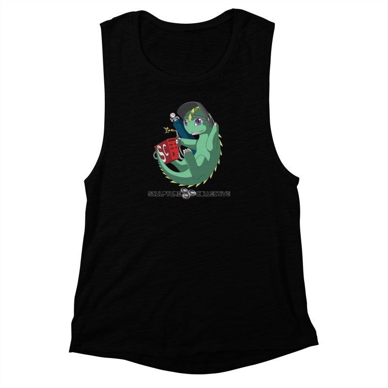 Weldzilla by Michelle Fluekiger Women's Muscle Tank by ChupaCabrales's Shop