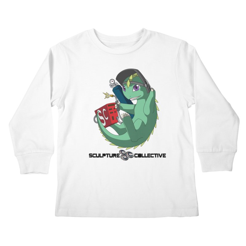 Weldzilla by Michelle Fluekiger Kids Longsleeve T-Shirt by ChupaCabrales's Shop