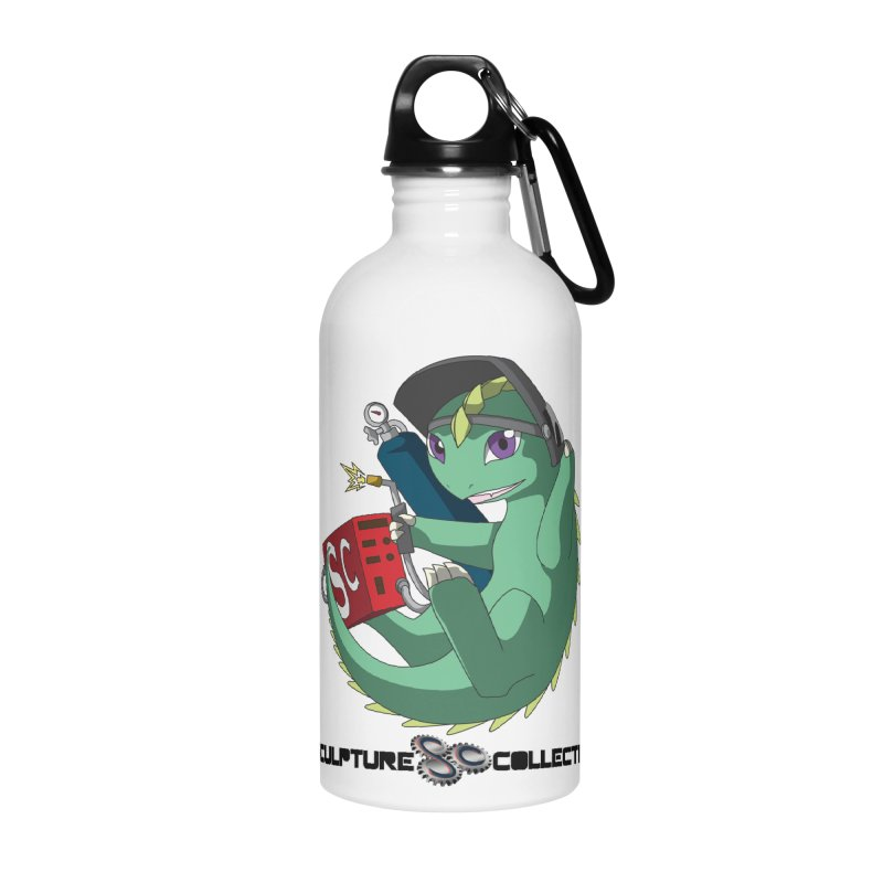 Weldzilla by Michelle Fluekiger Accessories Water Bottle by ChupaCabrales's Shop
