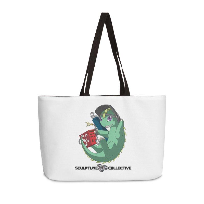Weldzilla by Michelle Fluekiger Accessories Bag by ChupaCabrales's Shop