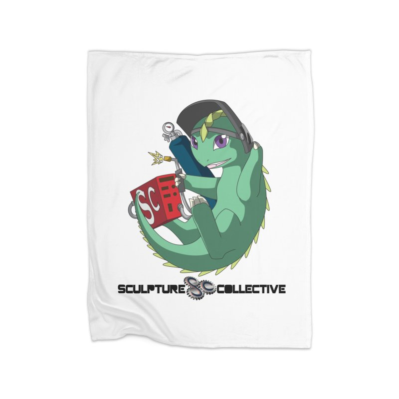 Weldzilla by Michelle Fluekiger Home Fleece Blanket Blanket by ChupaCabrales's Shop