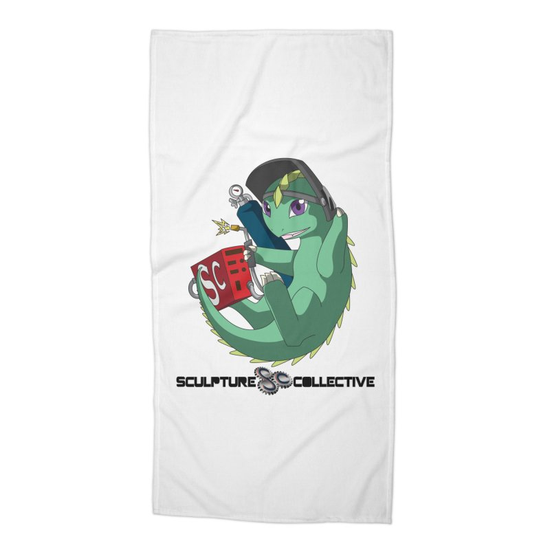 Weldzilla by Michelle Fluekiger Accessories Beach Towel by ChupaCabrales's Shop