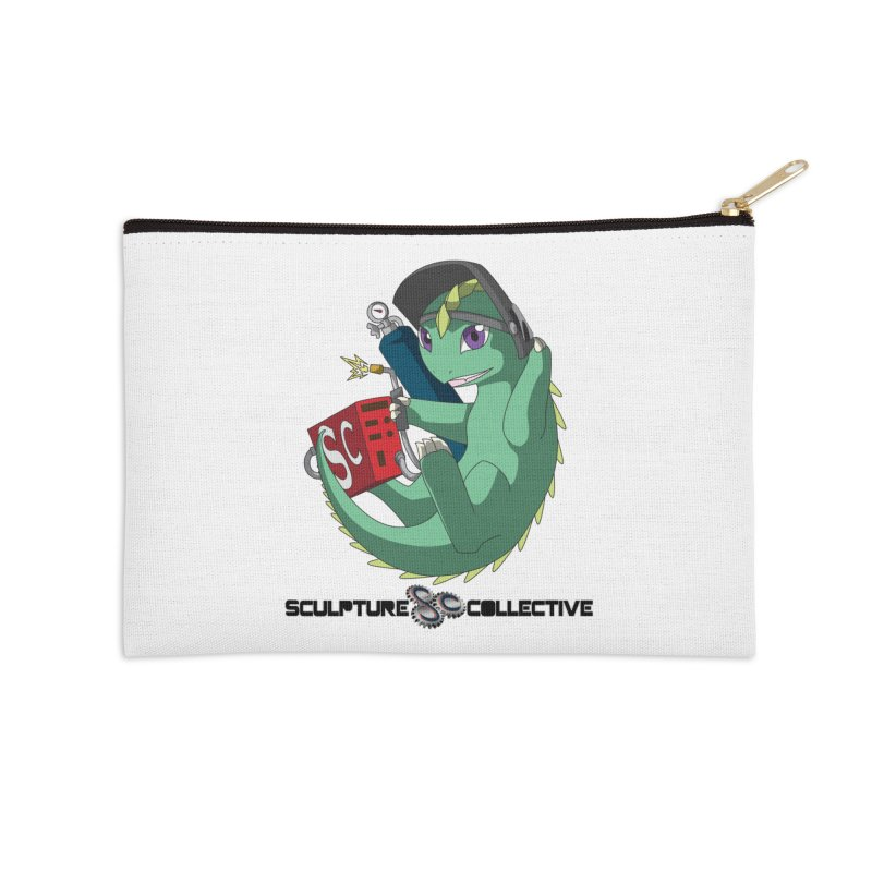 Weldzilla by Michelle Fluekiger Accessories Zip Pouch by ChupaCabrales's Shop