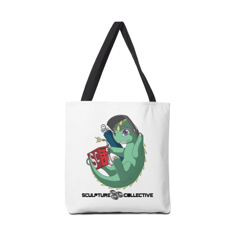 Weldzilla by Michelle Fluekiger Accessories Tote Bag Bag by ChupaCabrales's Shop